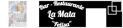 """Logo de Restaurante La Mata """"Felisa"""""""